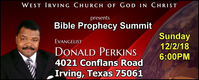 11th Annual West Irving COGIC Bible Prophecy Conference